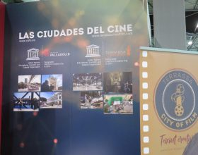 Terrassa City of Film at the FITUR Screen with Valladolid City of Film